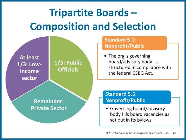 Tripartite Board Composition and Selection